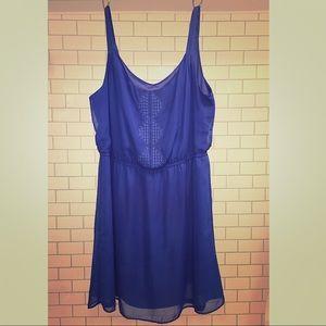 Gap XL Blue Cocktail Dress
